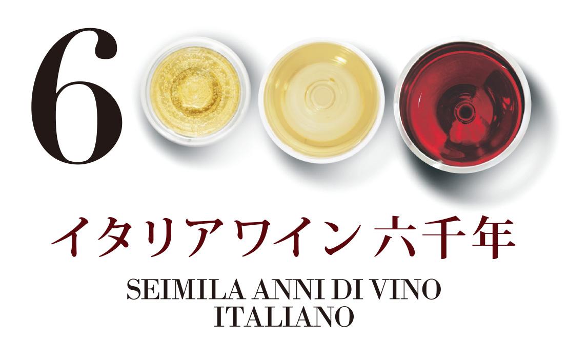 イタリアワイン6000年 SEIMILA ANNI DI VINO ITALIANO